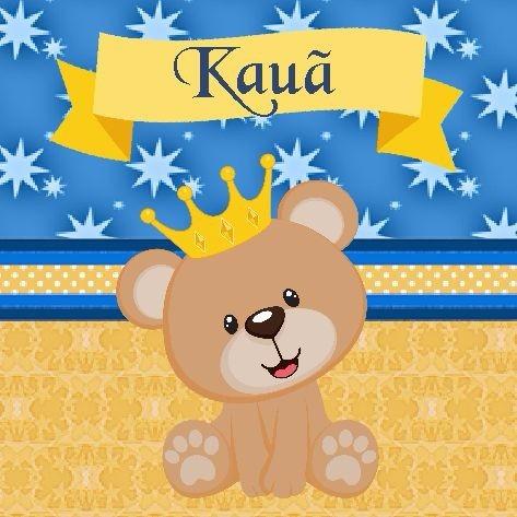 kit 120 lembrancinhas ursinho príncipe coroa chá de bebê fes