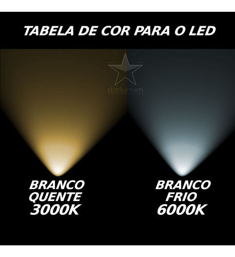 kit 13 arandela frisada luminária + lâmpada g9 led 5w st548