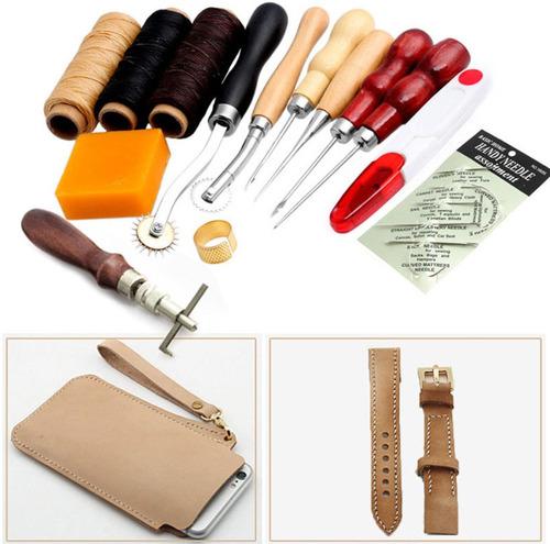 kit 13 herramientas para costura cuero o piel envío gratis