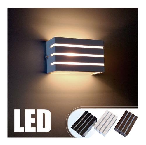 kit 14 arandela frisada luminária + lâmpada g9 led 5w st548