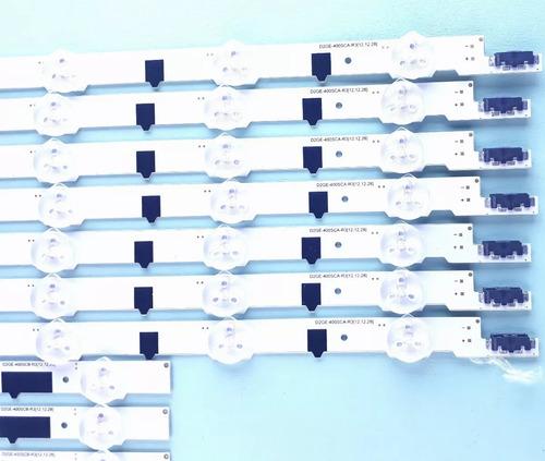 kit 14 barra de led samsung un40f6100 un40f6400 un 40f5200