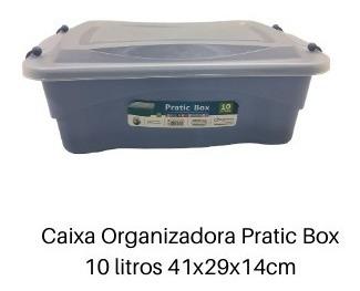 kit 14 caixas organizadora multiuso pratic box paramount