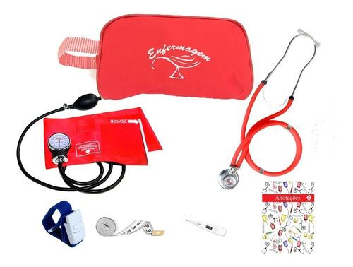 kit 14 enfermagem com necessaire exclusiva