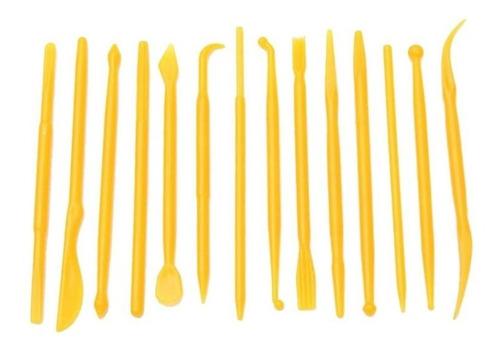 kit 14 estiletes herramientas modelado fondant arcilla pasta