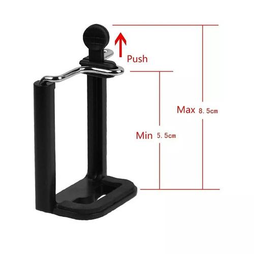 kit 14 mini tripé flexível ajustável celular barato atacado