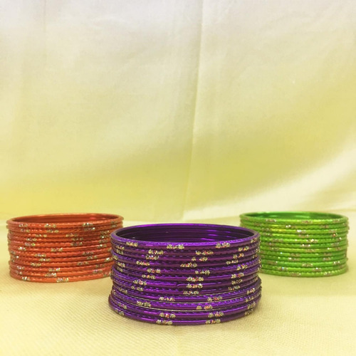 kit 144 peças  pulseiras argolas indianas