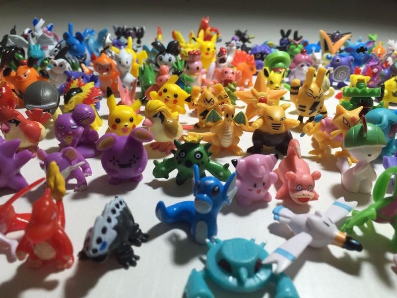 f2e82b8719227 kit 144 pokemon go miniaturas bonecos 2~3 cm sortido pikachu. Carregando  zoom.