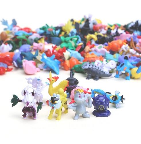 028658bd9eddf Kit 144 Pokemon Go Miniaturas Bonecos 2~3 Cm Sortido Pikachu - R ...