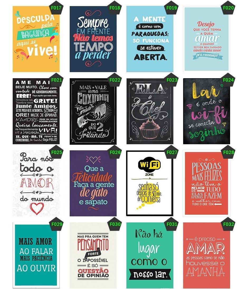 Kit 15 Adesivos Decorativos Frases Engraçada Motivação 30x20
