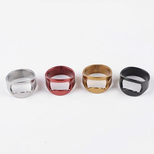 kit 15 anel abridor garrafa aço inox - c/ brinde de+ 1 anel
