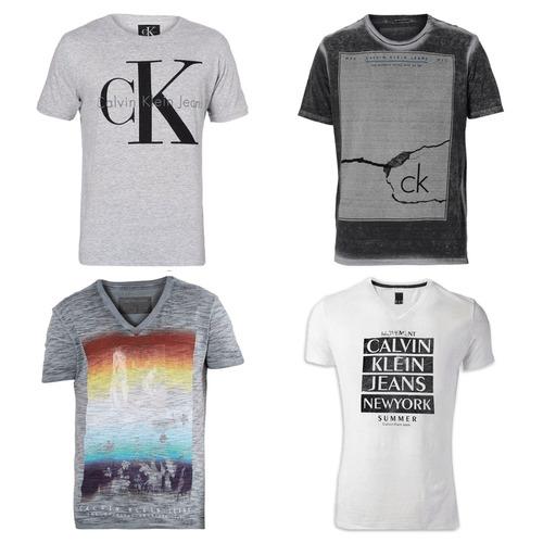 kit 15 camisa camiseta masculina marca estampada top