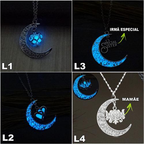 kit 15 colares brilha no escuro luminoso brilhante a noite