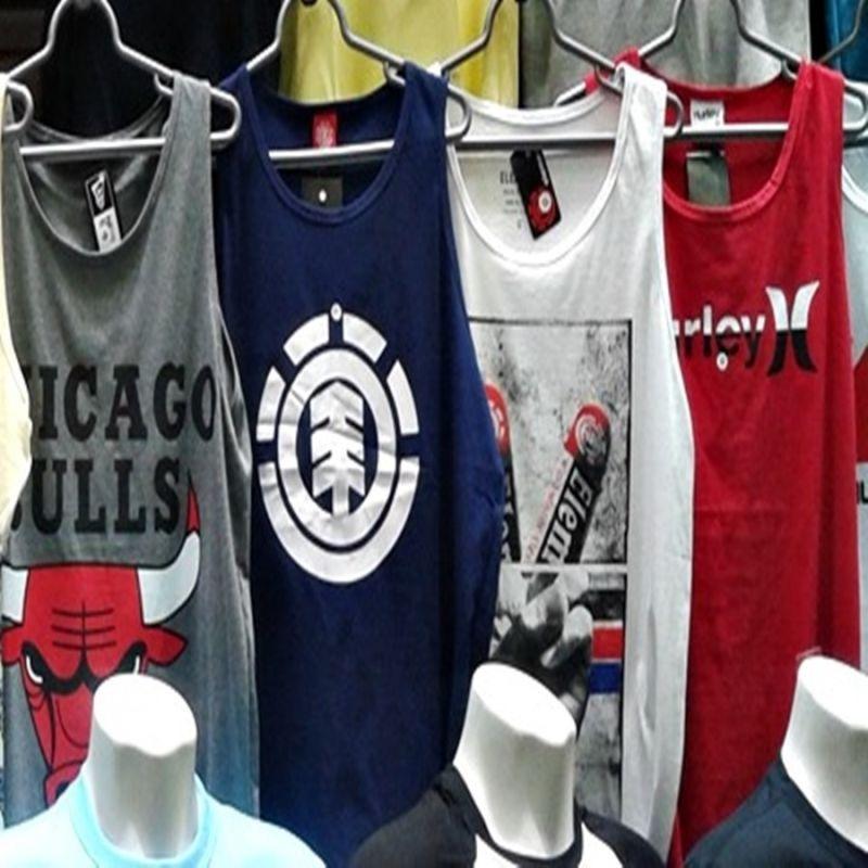 0cfda8583e kit 15 regata camiseta masculina marca estampada top atacado. Carregando  zoom.