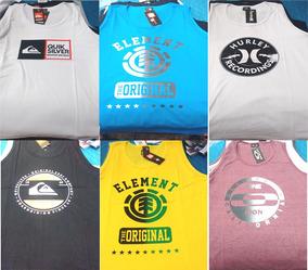 eecd9a86ef Camiseta Regata Quiksilver Surf It Kanui - Camisetas no Mercado Livre Brasil