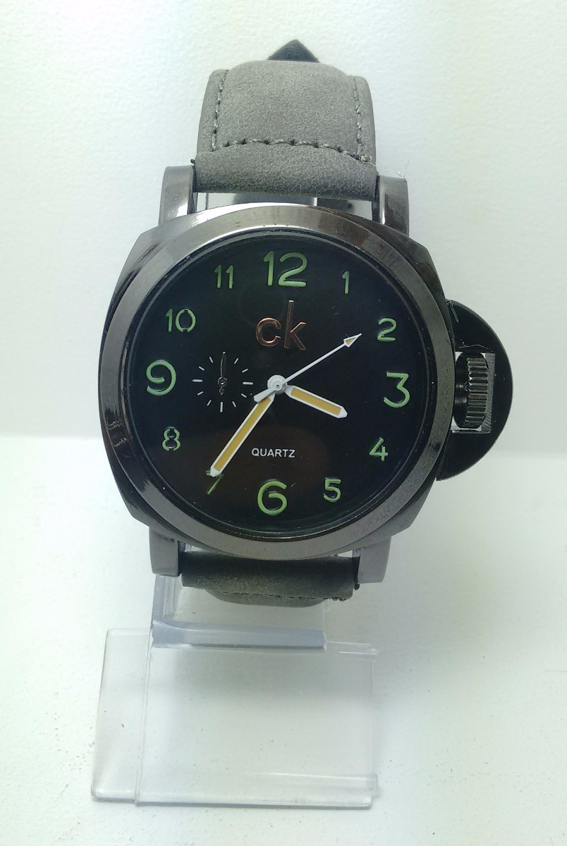 cb2d7b9d712 Kit 15 Relógio Luxo Ck Pulseira Couro Social Atacado Rc1 - R  289