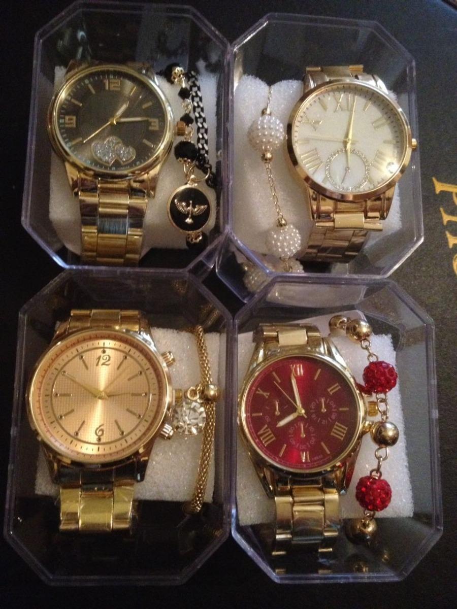 08431bb4b57 kit 15 relógios femininos barato revenda atacado 25 de março. Carregando  zoom.