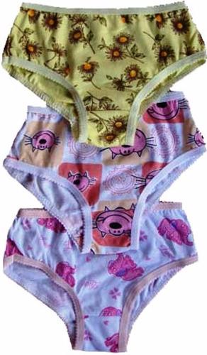 kit 15 roupa intima bebe infantil feminina varias estampas