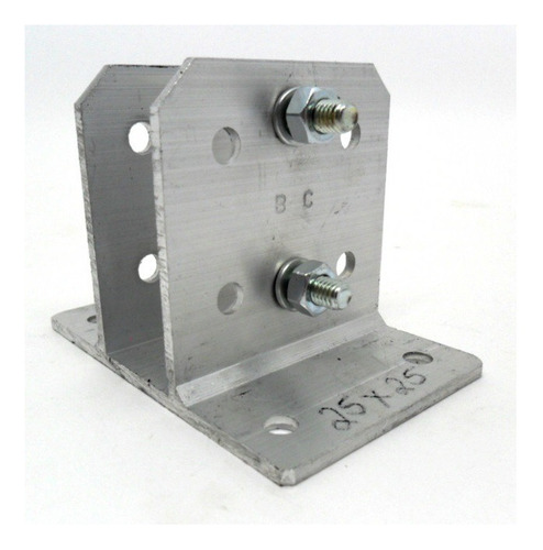 kit 15 suporte alumínio p haste industrial e big haste 28x28