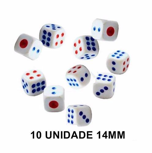 kit 150 unidades dados rpg 14mm 6 faces jogos tabuleiro .