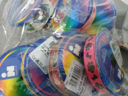 kit 1.500 botões e fitas para laços pet