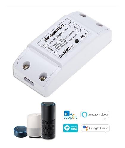 kit 15x novadigital interruptor wifi automação ms101