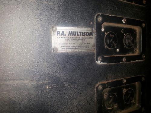 kit 16 caixas de som passiva multisom mod. attack