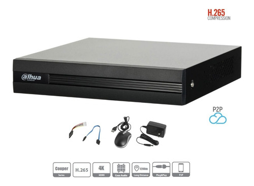 kit 16 cámaras 2 mp 1080p metal 93° vision 2tb cooper dahua