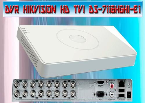kit 16 camaras hd + dvr 16 canales hd + disco duro 1 tb