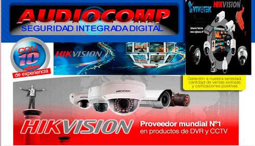 kit 16 camaras hd + dvr 16 canales hd + disco duro 2 tb