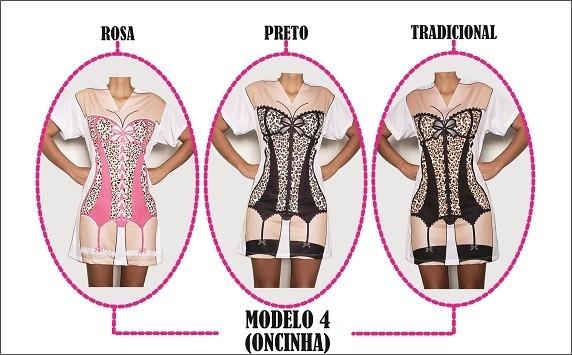e63d8af74 Kit 16 Camisolas Vestidos Chá De Lingerie Espartilho Oncinha - R  555
