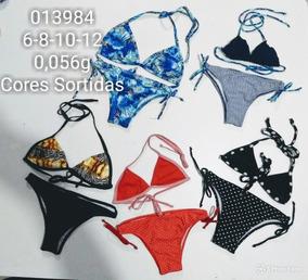 e9f808b7c4de9d Kit 16 Conj Biquini Infantil Sereia Tam 1-2-3-4-6-8-10-12