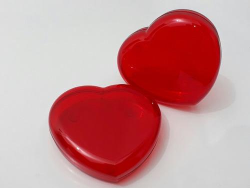 kit 16 lembrancinhas para casamento corações de acrílico