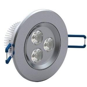 kit 16 spot led luz quente direcionável 3w teto sanca gesso