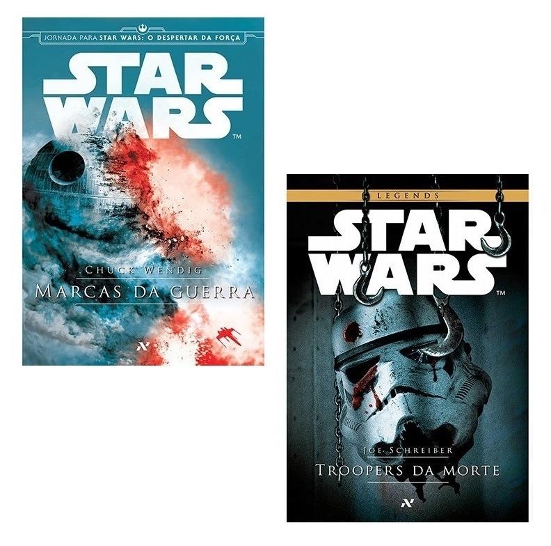 606d1e550 Kit 17 Livros Star Wars + Coleção Action Figures ! - R  619