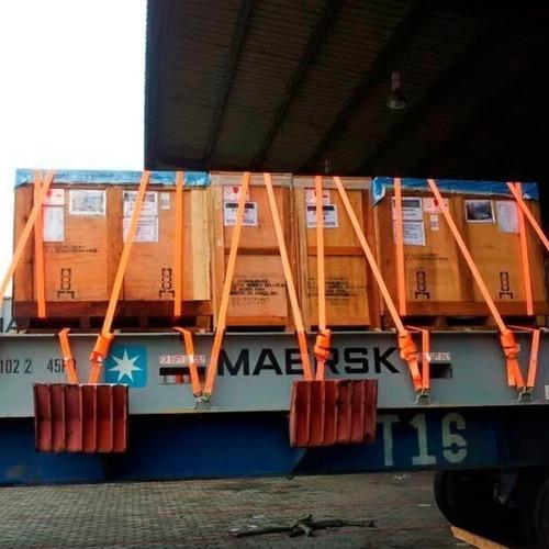 kit 18 catraca + 18 cinta amarração 5 ton 9 metros rabicho j