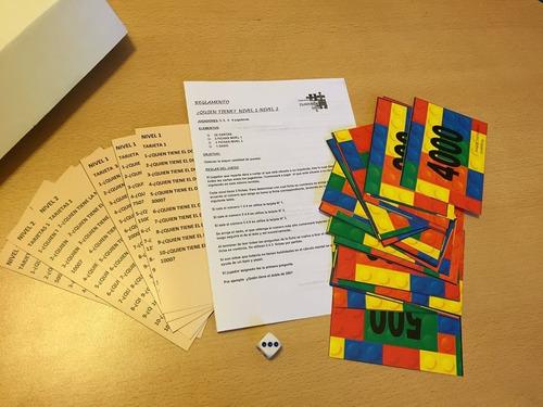 kit 2 11 juegos isandela .matemática lecto-escrit. cognitivo