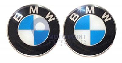 kit 2 adesivos bmw 6cm - frete grátis