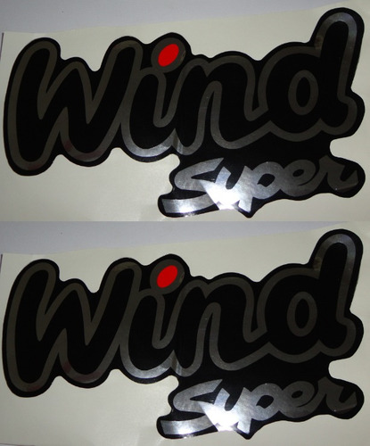 kit 2 adesivos wind super resinados corsa + brinde