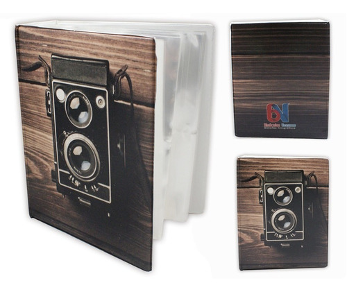 kit 2 álbuns  para 500 fotos cada, 10x15cm vários modelos