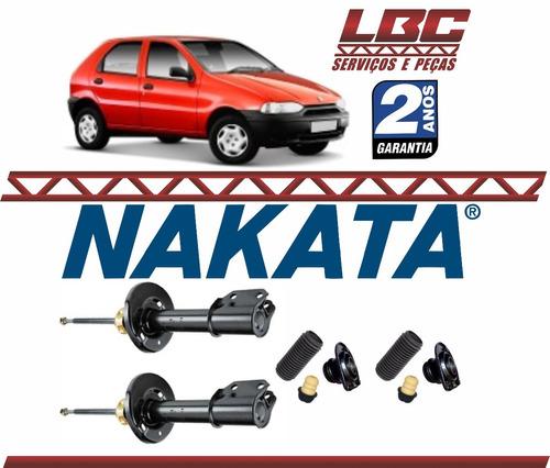 kit 2 amortecedor dianteiro nakata + kit palio 96 97 98 99