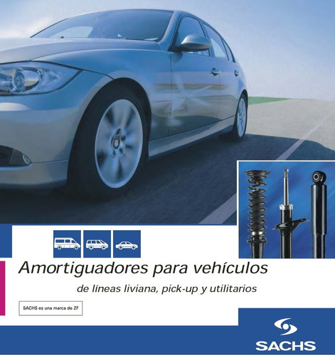 kit 2 amortiguadores del. sachs ford camion f600 - grosspal