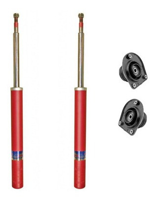 kit 2 amortiguadores delantero fiat palio cazoletas