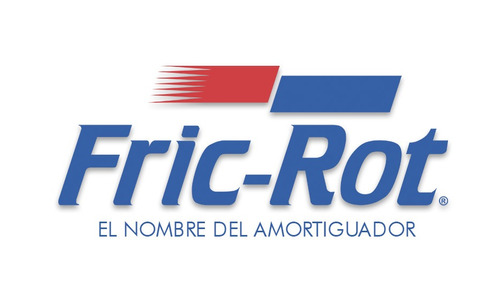 kit 2 amortiguadores fric rot traseros renault r18 89 d