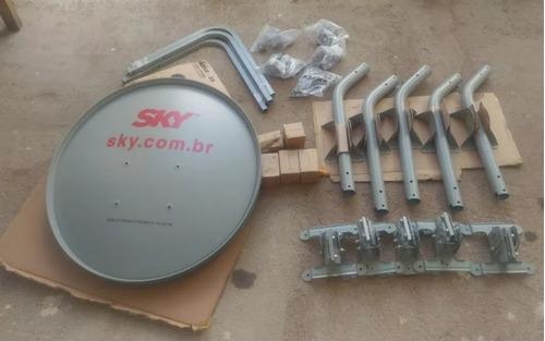 kit 2 antenas banda ku 60 cm super promoção!!!