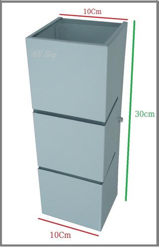 kit 2 arandela 2000 externa c/ fechamento em vidro 30cm
