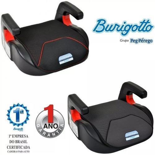 kit 2 assentos elevação infantil protege 15-36kg burigotto