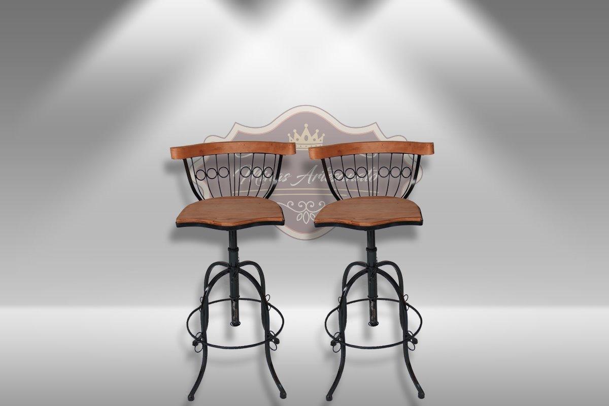 Kit 2 Banquetas Altas Cozinha Americana 80 Cm Sem Juros R 359