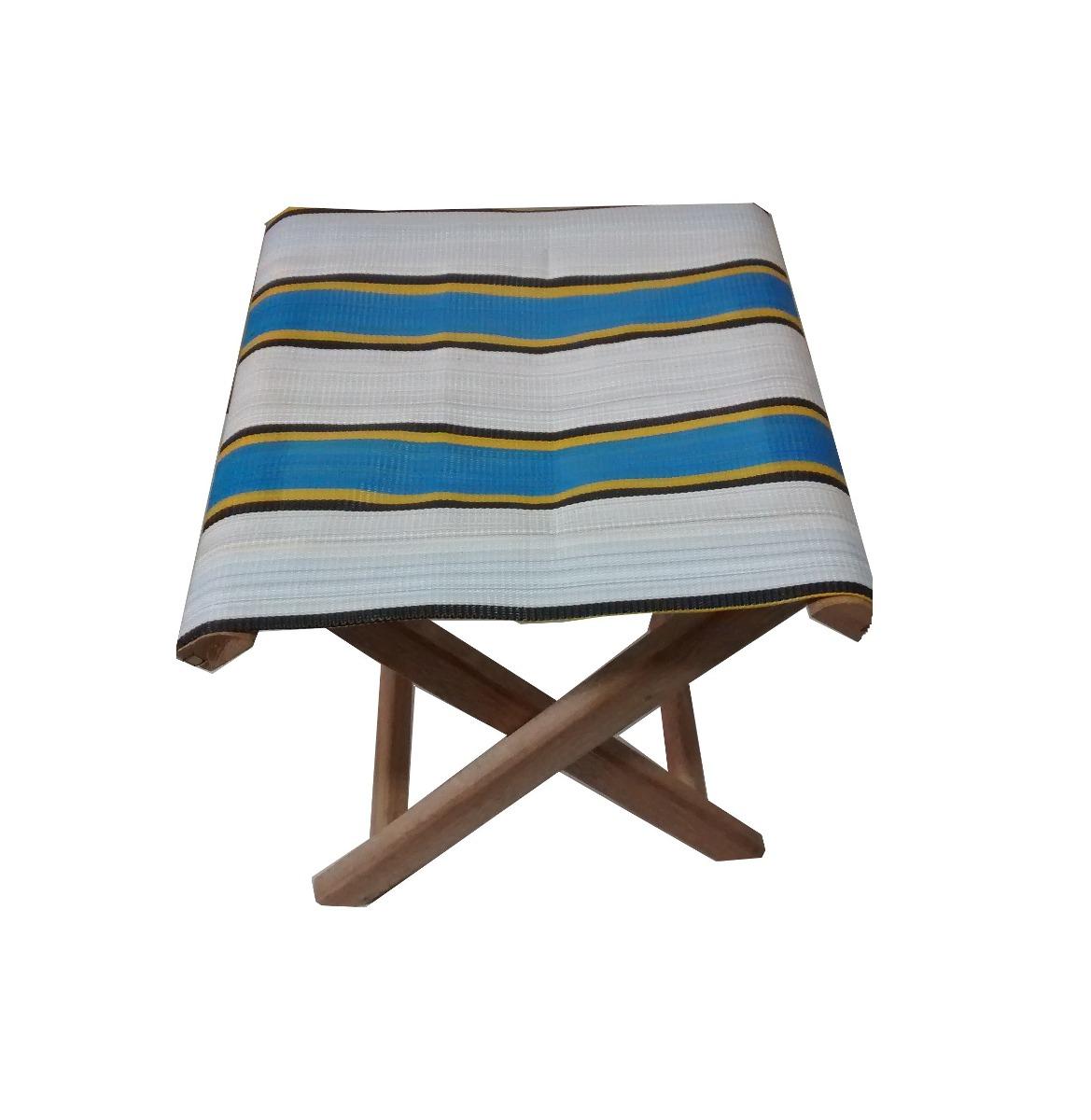 Kit 2 Banquetas Cadeiras Dobráveis Camping De Madeira R$ 52 99 em  #216997 1169x1200