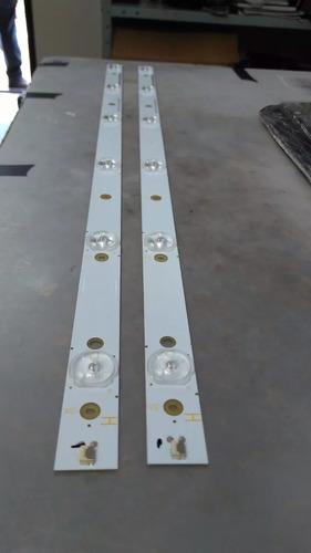 kit  2 barra de led philips 32phg4109/78 320tt09 v6