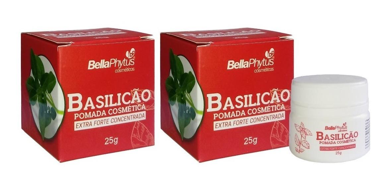 Basilicão Pomada Extra Forte Concentrada 25g Bella Phytus Kit 2 Unidades